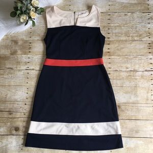 NWT 41 Hawthorn Color Block Dress
